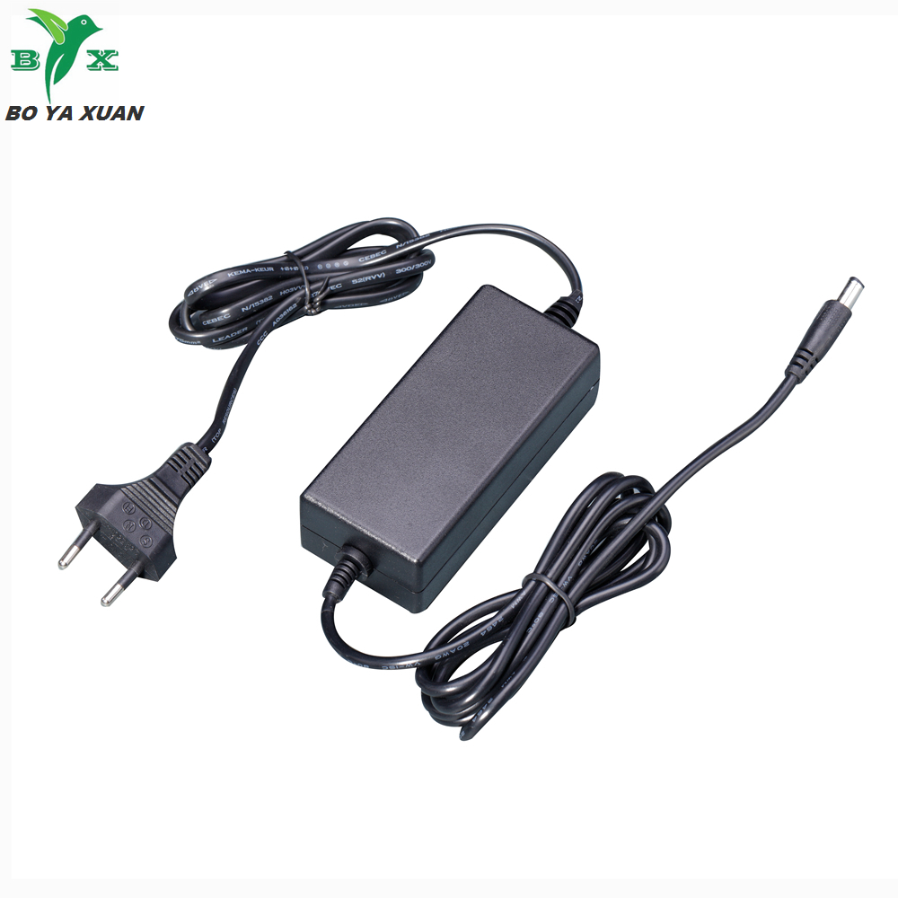 super capacitor portable charger 24v 2.5a AC DC power adapter for foot massager with CE GS ROHS