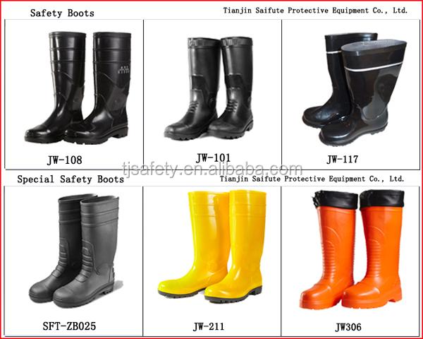 Long Neoprene Rubber Latex Boots