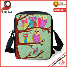 New Owl Satchel Handbag Women Messenger Sling Cross bag Purse