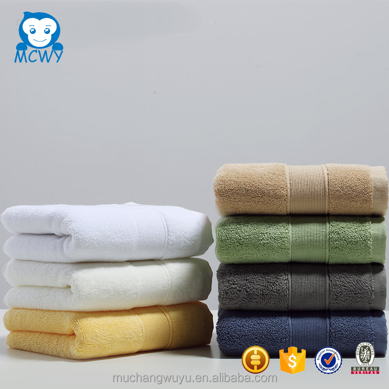 Wholesale design supplier big logo decorative cotton face towel custom