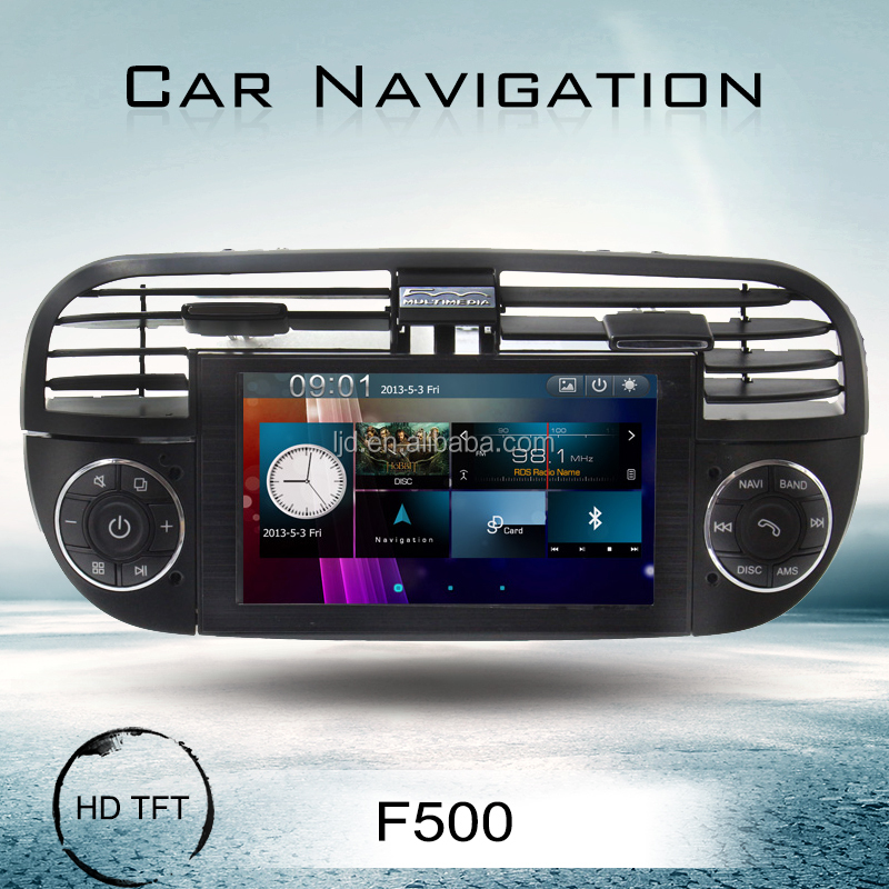 Car DVD player for Fiat 500 with MP3/bluetooth/MP4/Ipod/GPS