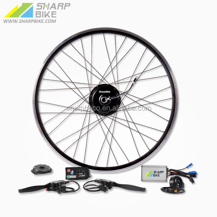 36 V 250 Wát điện ebike conversion kit với LED hiển thị