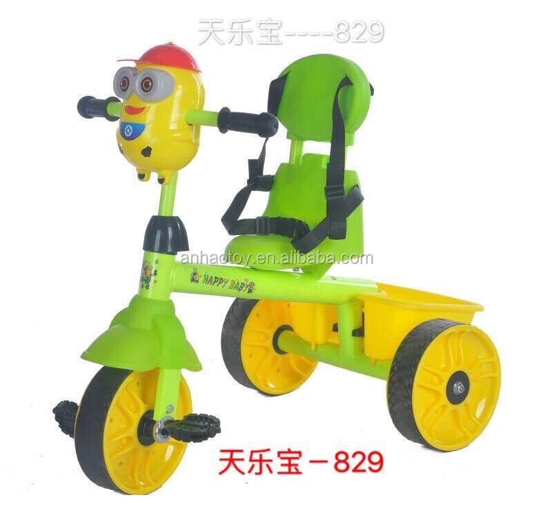 special style baby tricycle,lovely animal kinds baby ride on car.