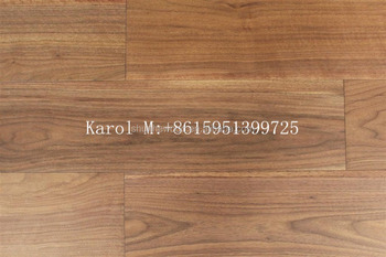 Brush American Black Walnut Wood Flooring
