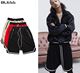 New Fashion Wholesale Men 100% Polyester Sports Gym Streetwear Shorts