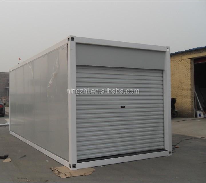 Modernist A 20 X 20 Modern Style Two Car Garage: Prefabricated Cheap Morden Steel Garage