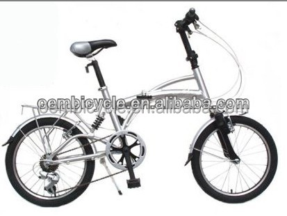 20 inch Alloy 6 speed Folding Bike made in China