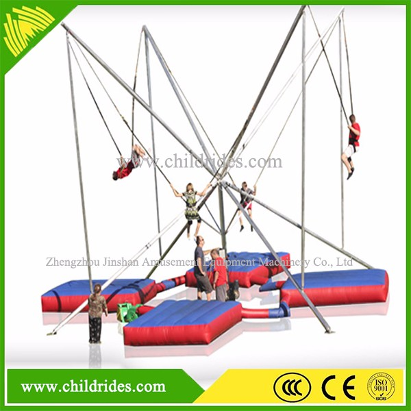 hot sale bungee jumping, bungee trampoline price for kids