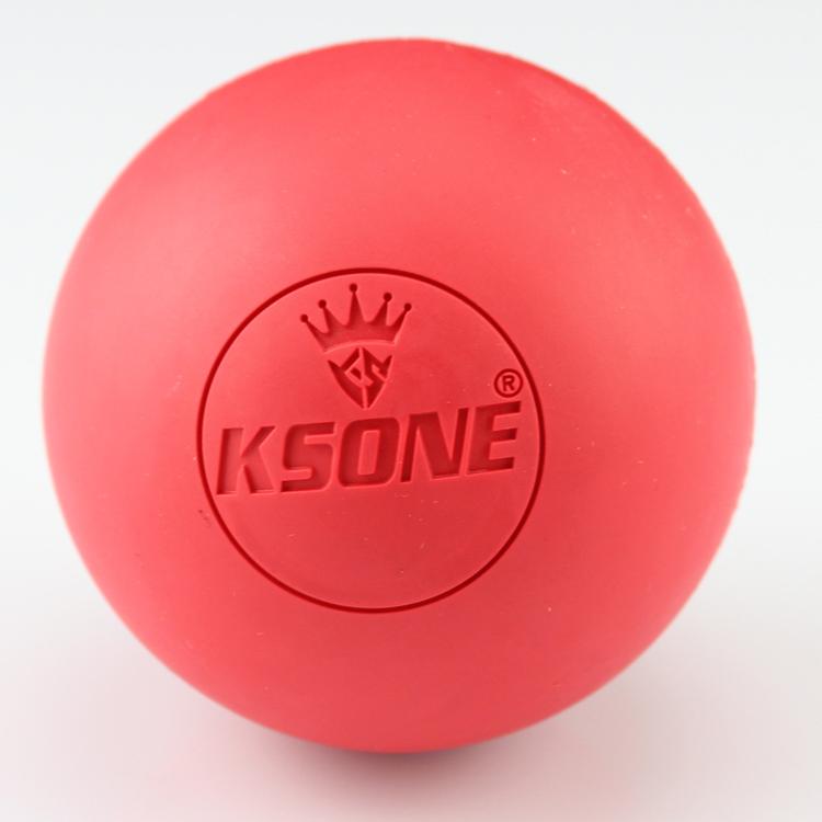 High Quality Custom Logo Nature Rubber Lacrosse Balls