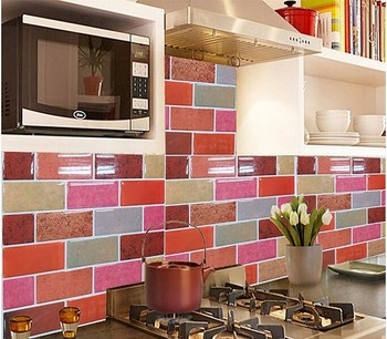 New Wallpaper High Quality Self Adhesive Plain For Kitchen Backsplash From China Supplier