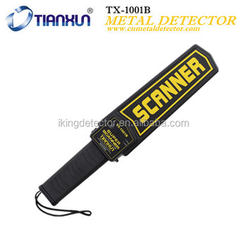TX-1001B Rechargeable Body Scanner for Security Check