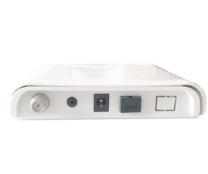 best price plastic shell 1310/1550 CATV fiber optical receiver