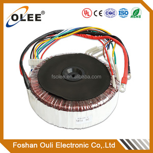 Audio/amplifier control power transformer good quality toroidal transformer