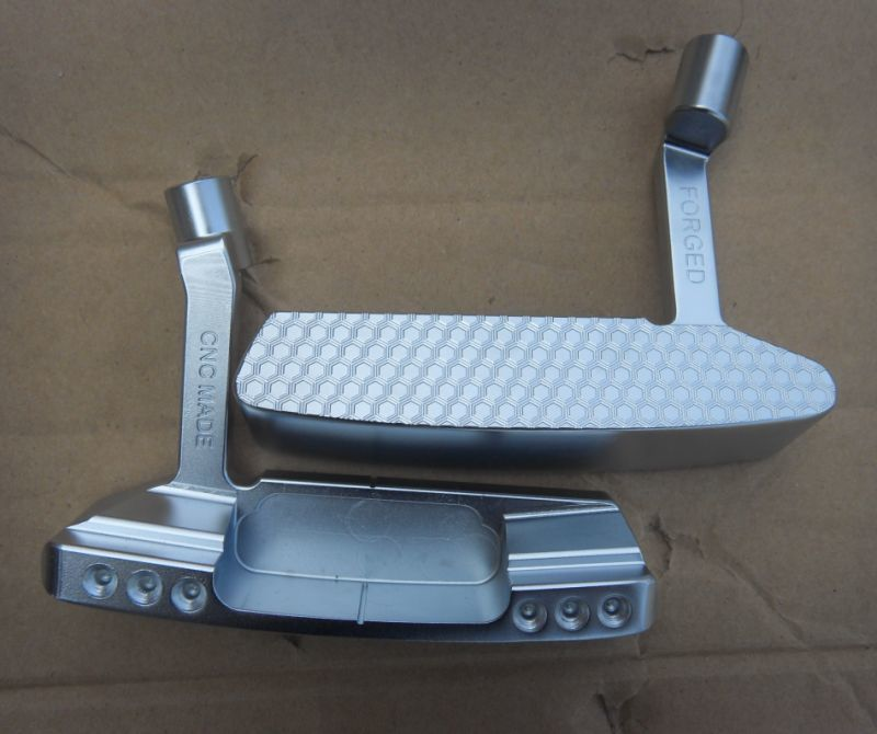 Custom Design CNC Fresatura di Acciaio Testa di Golf Putter