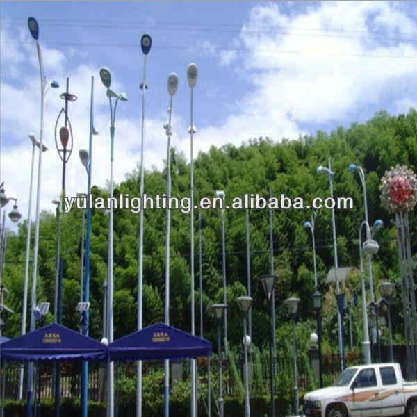 alta calidad polo m decorativo luces para jardin poste de alumbrado pblico solar wind turbine