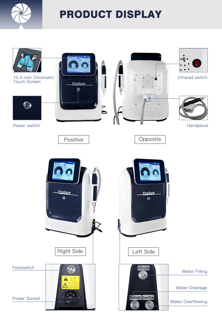 ndyag q-switch laser machine pigment removal