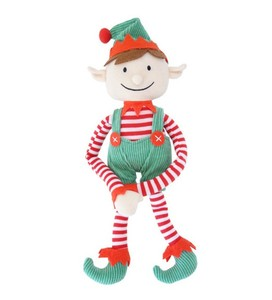 "Funny 13"" Long Arm Christmas Plush Elf Christmas Toys for Kids"