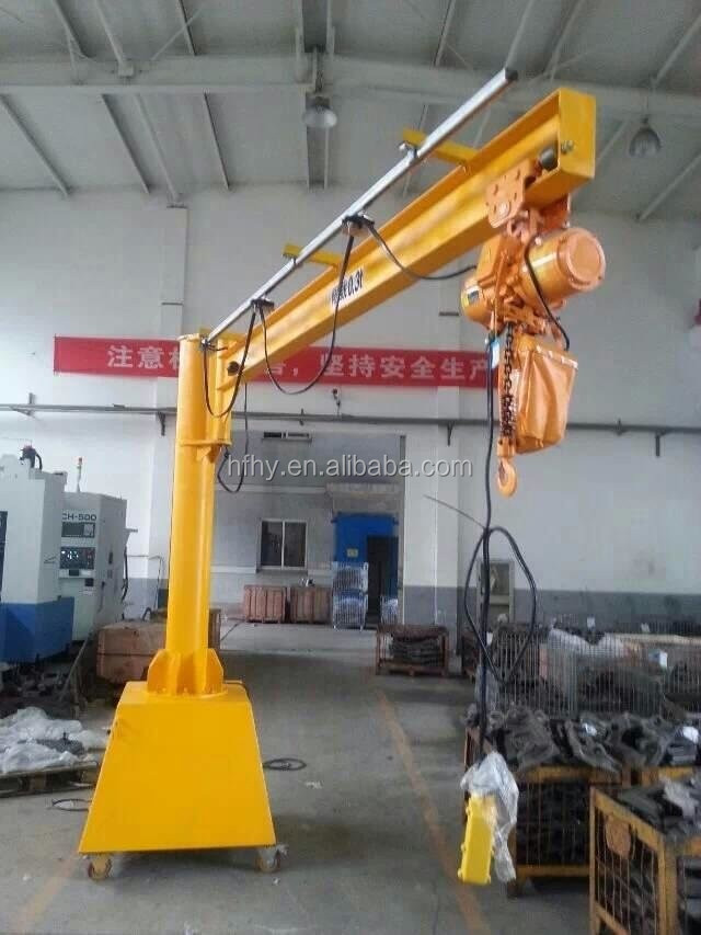 Swing Arm Hoist Mount : Jib crane hoist cantilever kg buy swing