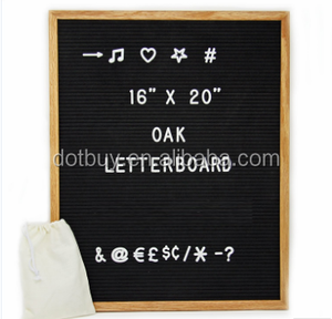 16 X 20 Inch Slotted Wooden Letter Board