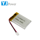 Cheap high quality YJ452845 600mah high quality lipo battery for intelligent electronics