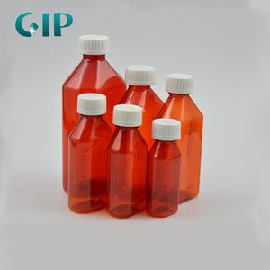 b0acc1fe2 plastic liquid medicine bottle with child-resistant cap plastic bottle with  cap