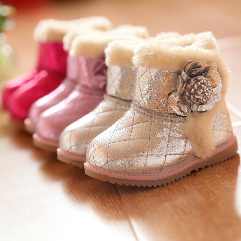 D20109S LOVELY GIRLS COTTON BOOTS