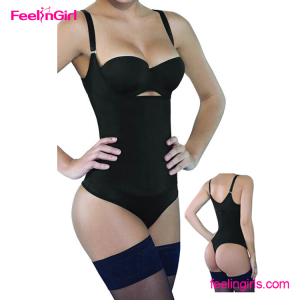 Wholesale Cheap Shapewear Ultra Slim Body Shaper with Open Crotch