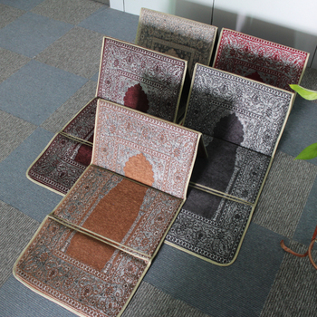 tapis tapis Mosquée Prière Matériel De Pour Avec Pliable Siège Chenille Tapis Chaise Prière Culte Buy Pliable Musulman vn80NwOm