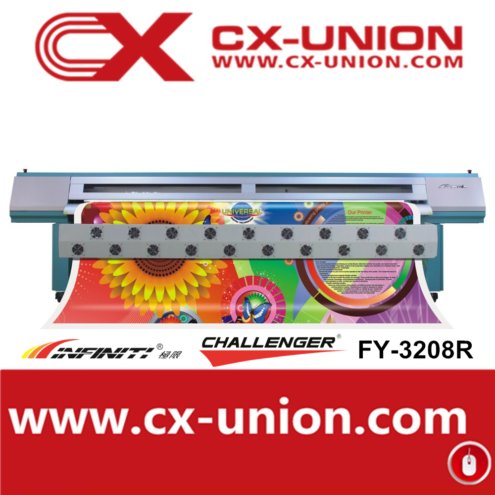 Infinity FY-3208R fy union outdoor eco solvent ink jet printer digital flex advertising poster printing machine for sale