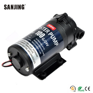 High Pressure 100G Electric 24V DC Water RO Booster Pump for Water Purifier