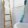 Newest Stylish Household Bamboo Ladder for towel