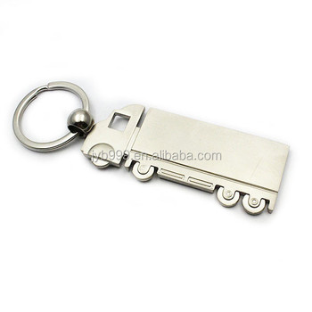 mini truck shape keychain metal truck key ring car shape key chain