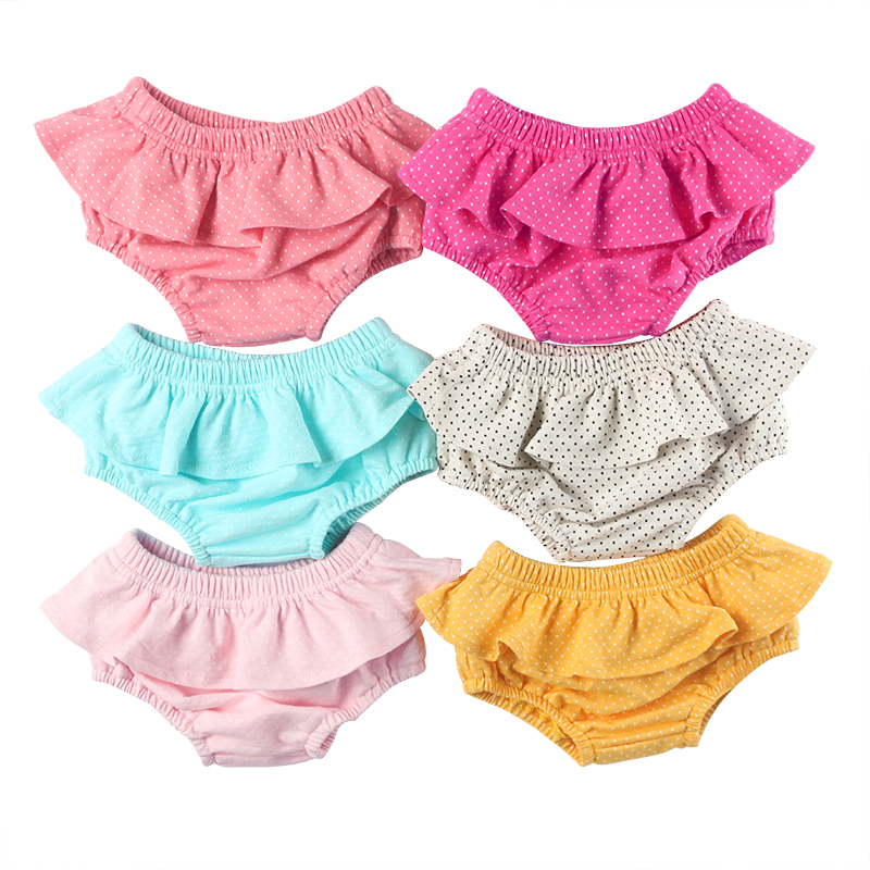 hot sale latest newborn baby clothes soft cotton baby diaper cover cotton ruffle baby bloomer