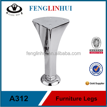 Contemporary Metal Furniture Feet Factory Made A312 Buy Sofa Feet Replacement Sofa Legs Chrome