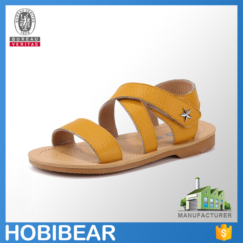 Hobibear Fashion Design Summer Children Sandal Stylish Flat ...