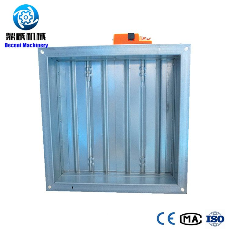 Galvanized steel Motorized Vent Damper for HVAC Systems