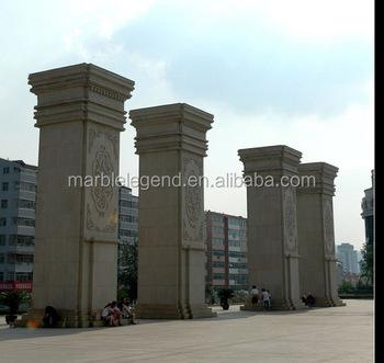 Palace Und Villa Aussen Zaun Wand Dekoration Chinesischen Aussen