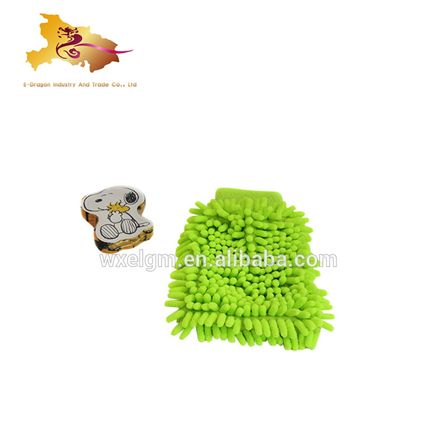 waterproof car wash gloves China supplier where to buy microfiber cloth azo free