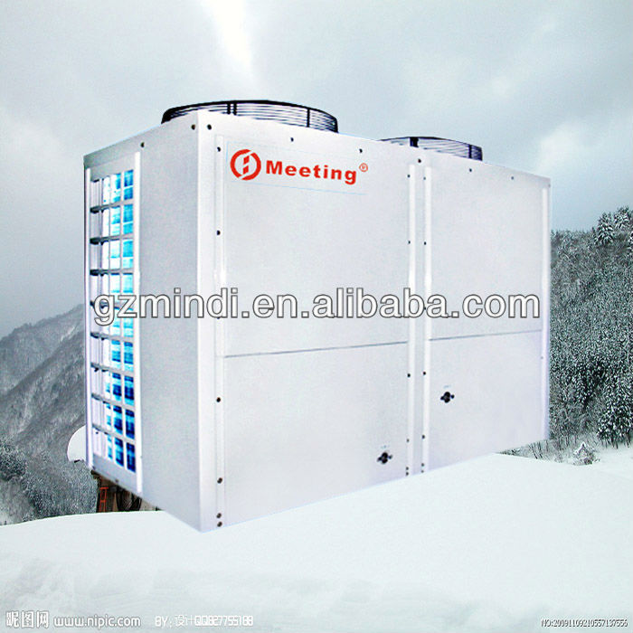 Outdoor Commercial Air to Water Heatpump Heater