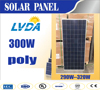 LVDA Factory directly sale guranteen quality best price poly solar panel 290w 300w 310w 320w 1956*992*40mm for hot selling