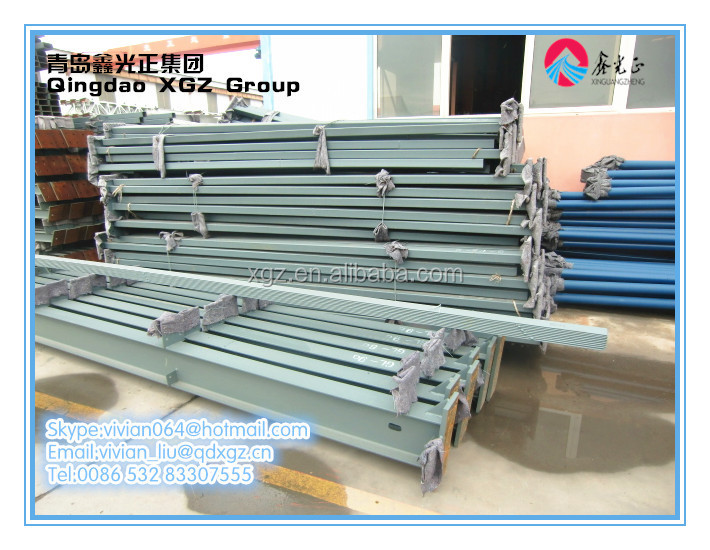 China XGZ light steel structure prefab building materials