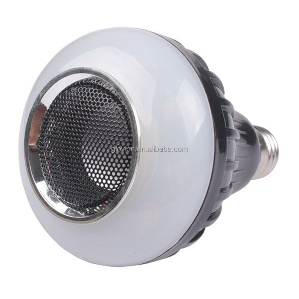 Hot Selling Wireless Bluetooth Speaker Led Bulb E27 220v Rgb Led ...