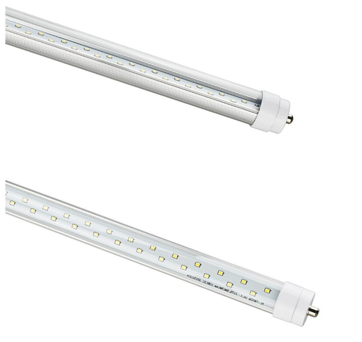 Ul 50w 2400mm 2.4m Led Light Tube Fittings 8ft 100-277vac 2835smd ...