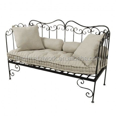 Decorative Home And Garden Furniture Wrought Iron Indoor