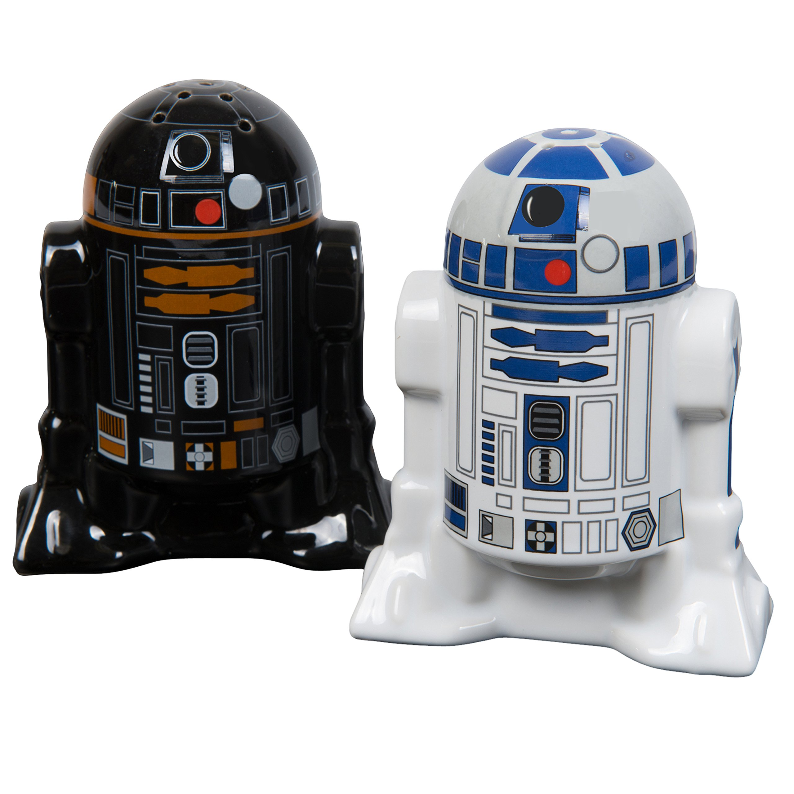 Star Wars Salt and Pepper Shakers - R2D2 and R2Q5 - Add a little Star Wars to every Meal