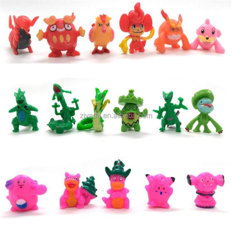 wholesale pokemon figure toy anime action figure mini PVC figures model toys