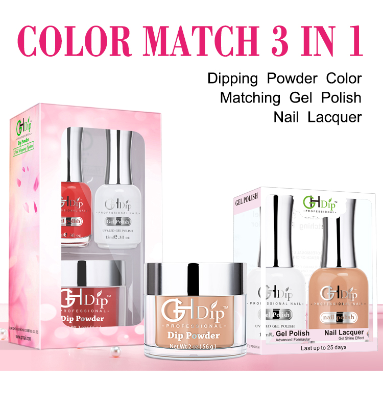 Glitter Nail Acrylic Powder Colors Fast Drying Dip Powder System
