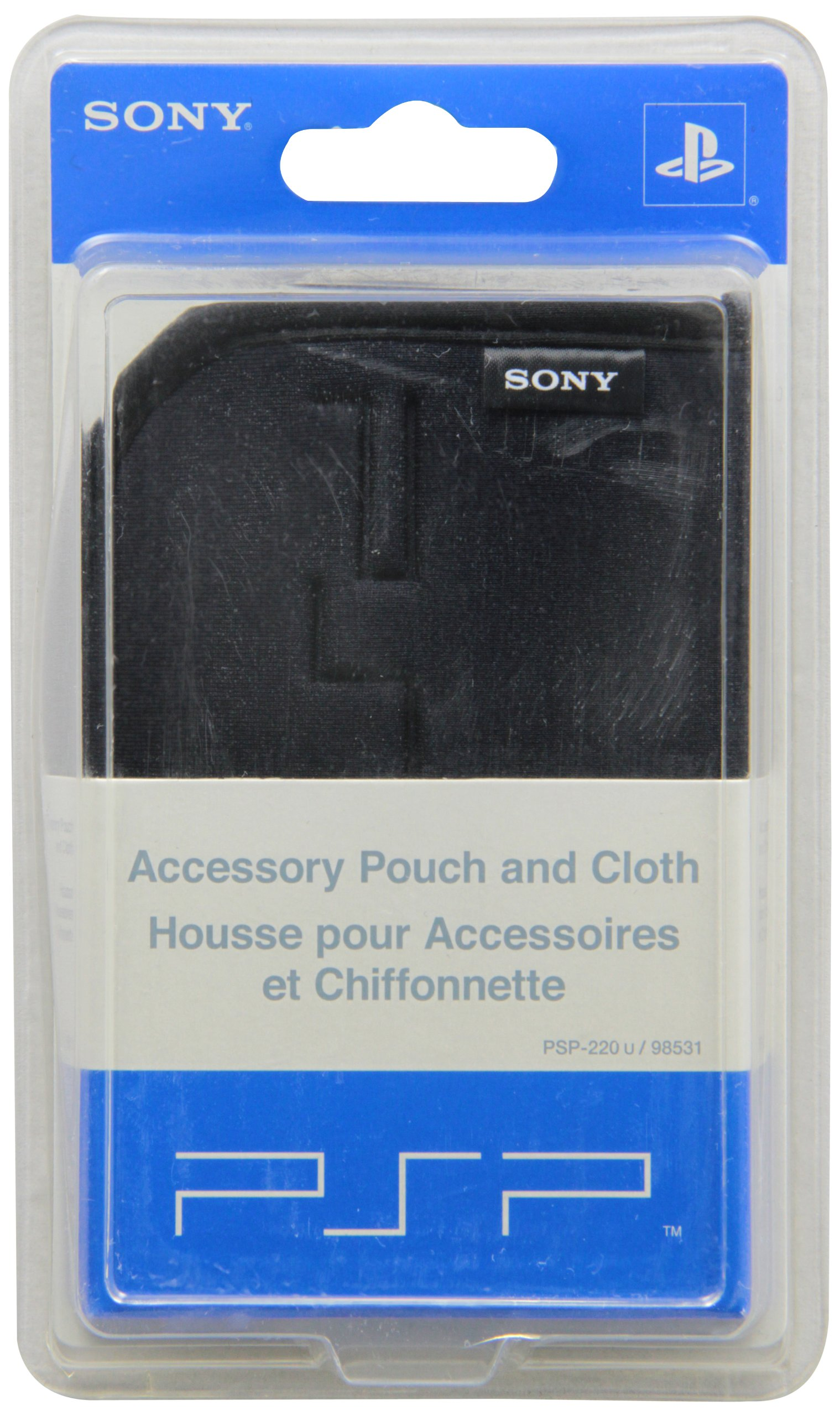 Sony Computer Entertainment PSP Accessory Carrying Case And Cloth