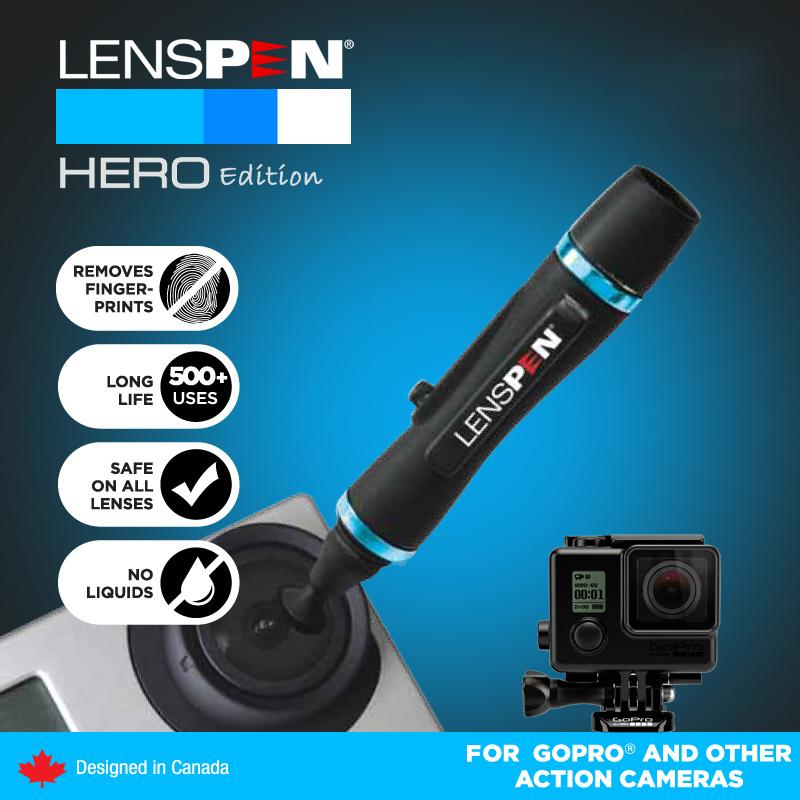 10 шт./лот объектив камеры GOPRO аксессуары GOPRO герой для чистки линз PEN идеальное решение для героя высокое качество бесплатная доставка