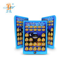 Wholesale double language tablet pc early learning educational toy for kids